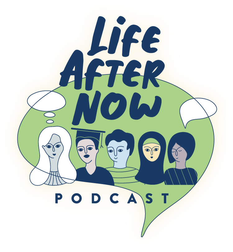 Life After Now Podcast Illustration